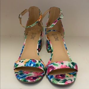 COLORFUL STRAPY SANDALS